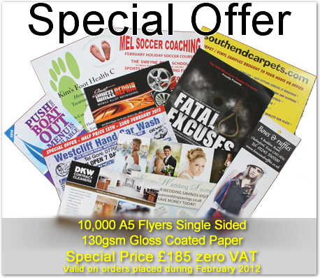 Flyers/Leaflets Essex